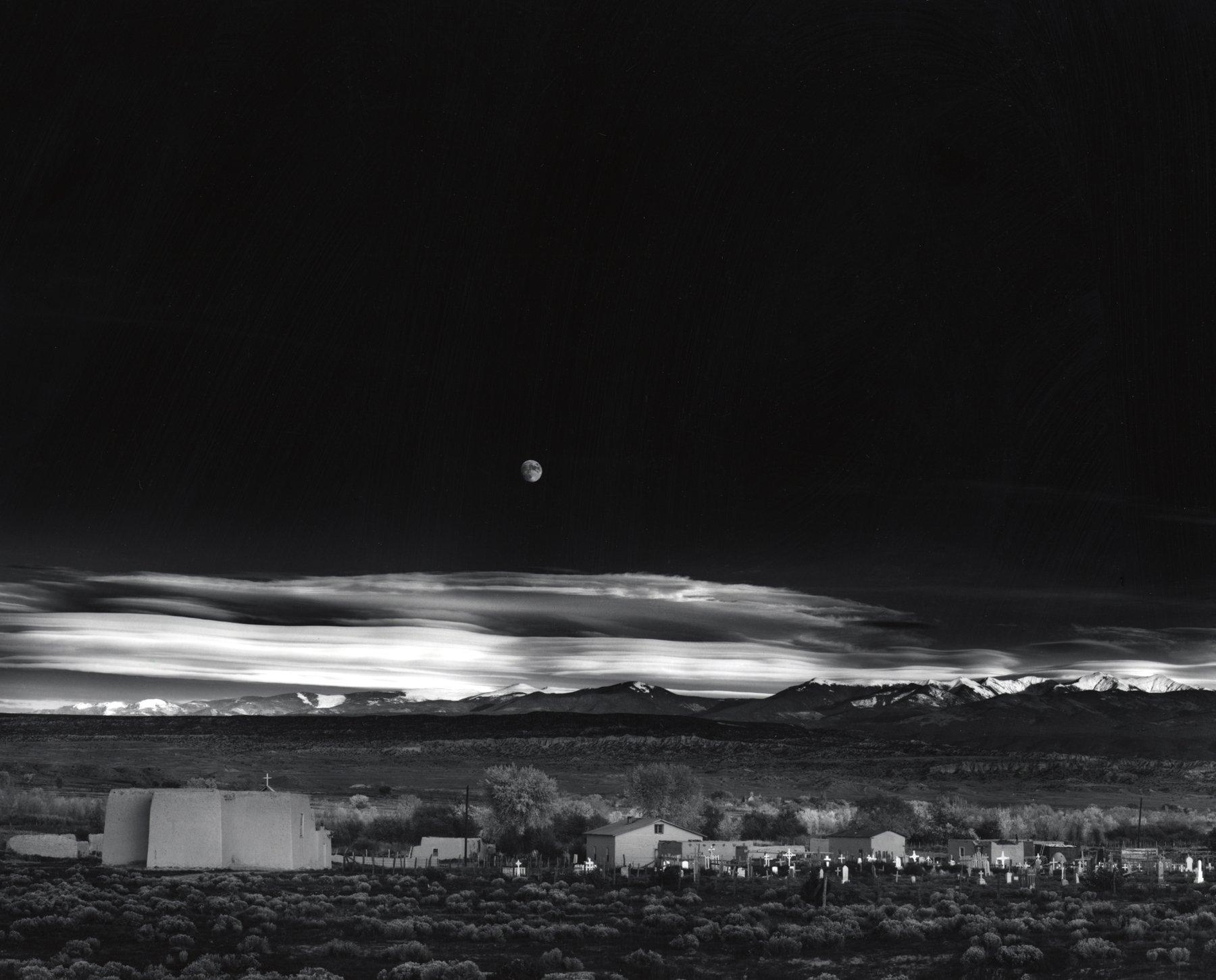 Ansel Adams : Moonrise, Hernandez. Tirage final