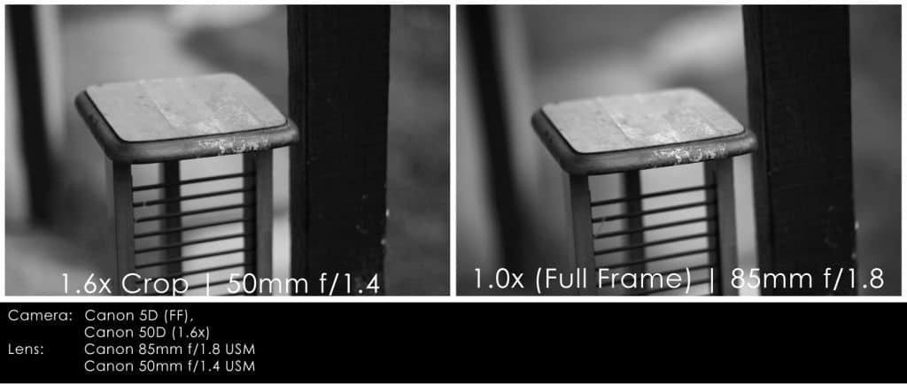Comparaison 50mm/APS vs. 85mm/Plein format