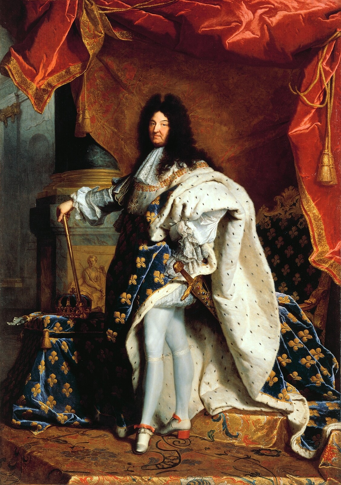 Louis XIV, Hyacinthe Rigaud (1701)